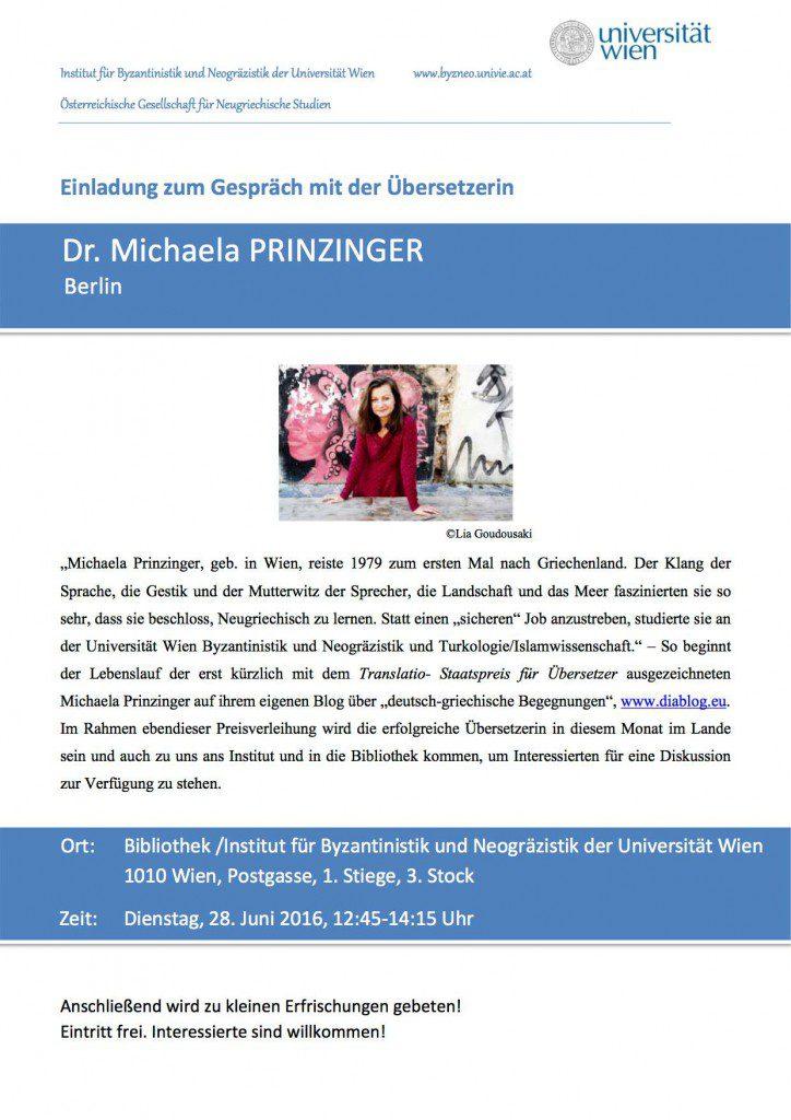 Einladung Wien, 28.6.2016