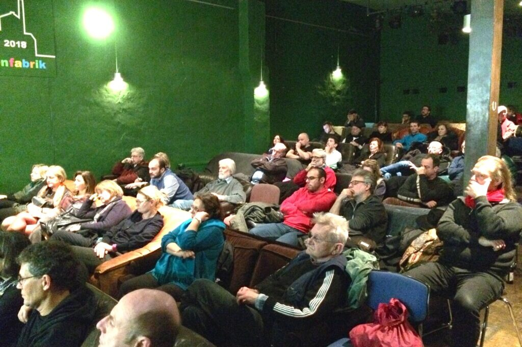 publikum bei lesung