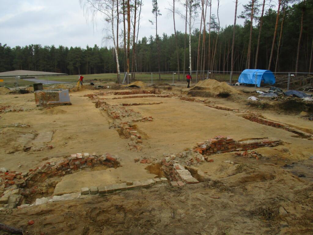 Fundamente einer Ausgrabung